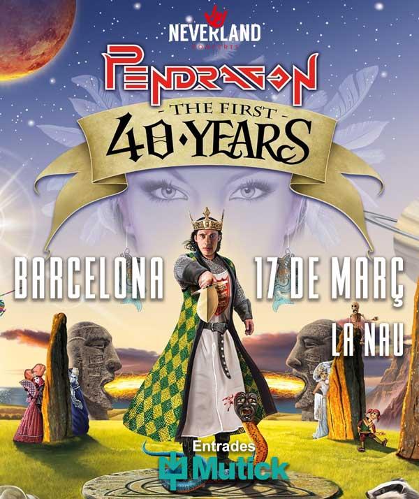 Agenda de giras, conciertos y festivales - Página 3 Cartell-pendragon-barcelona