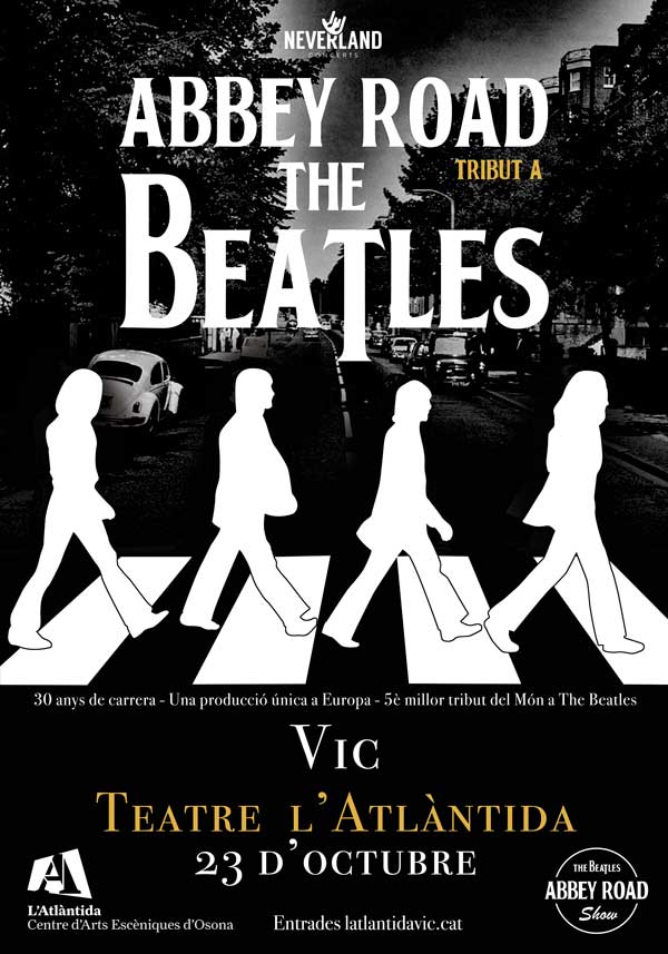Abbey Road tribut Beatles Vic