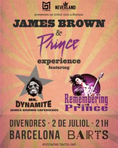 Jame Brown and Prince Experience